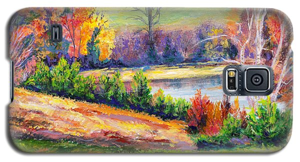 Illuminating Colors Of Fall Galaxy S5 Case