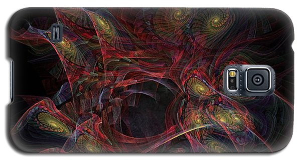 Galaxy S5 Case featuring the digital art Illusion And Chance - Fractal Art by NirvanaBlues