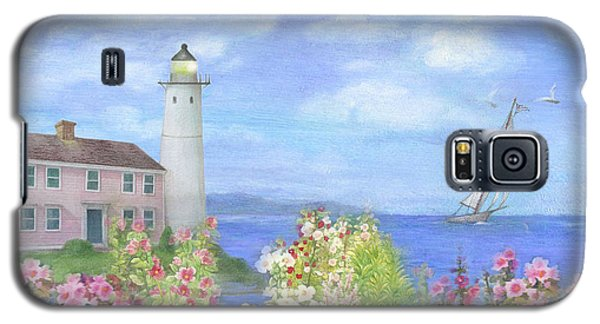 Illustrated Lighthouse By Summer Garden Galaxy S5 Case