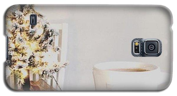 Music Galaxy S5 Case - I'm Enjoying My Christmas Tree Up For by E M I L Y  B U R T O N
