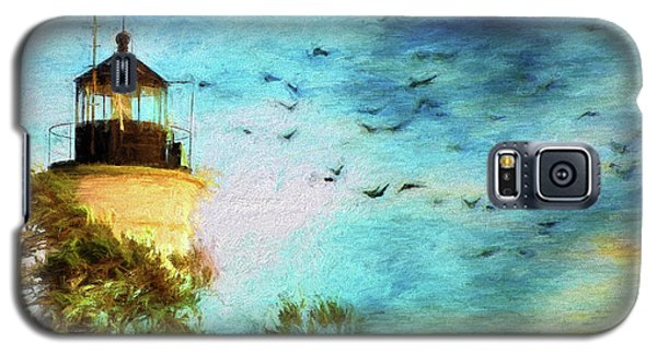 Galaxy S5 Case featuring the photograph I'm Here To Watch You Soar II by Jan Amiss Photography