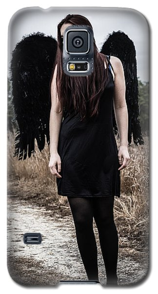 Galaxy S5 Case featuring the photograph I'm No Angel by Brian Hughes