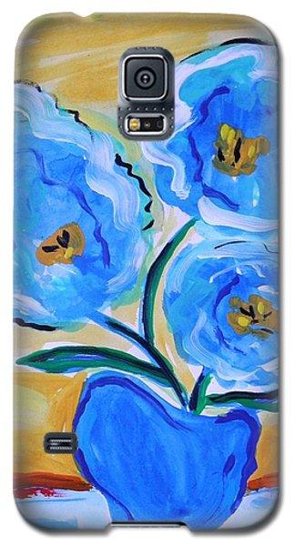 Imagine In Blue Galaxy S5 Case