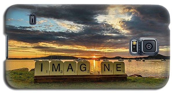 Imagine Sunrise Waterscape Over The Bay Galaxy S5 Case