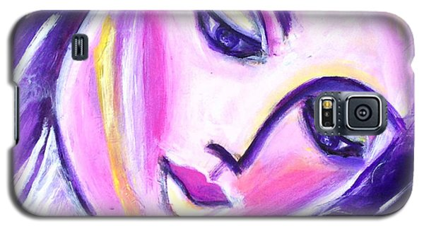Galaxy S5 Case featuring the painting Imagine Tomorrow by Anya Heller