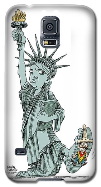 Immigration And Liberty Galaxy S5 Case