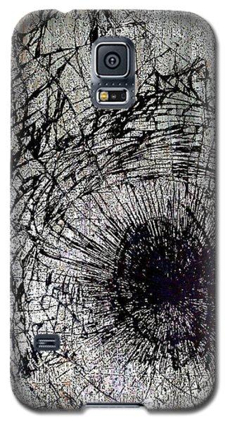 Galaxy S5 Case featuring the mixed media Impact by Tony Rubino