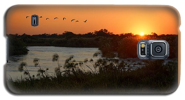 Impalila Island Sunrise Galaxy S5 Case