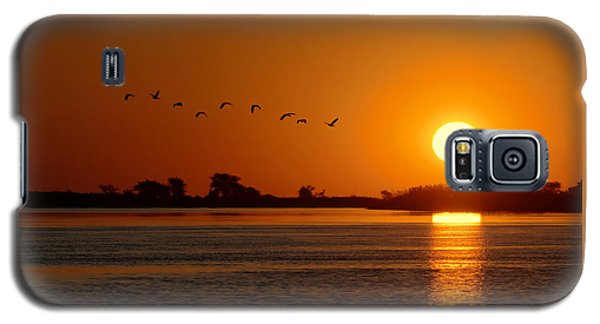 Impalila Island Sunset No. 1 Galaxy S5 Case by Joe Bonita