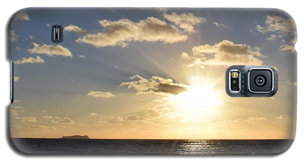 Sunset Reflection At Imperrial Beach Galaxy S5 Case