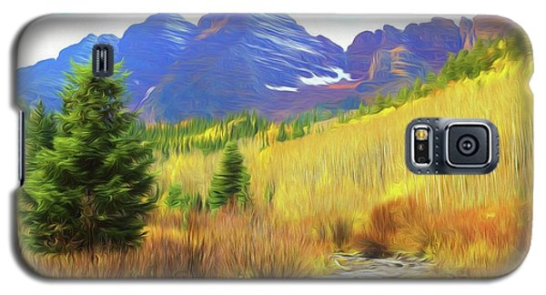 Galaxy S5 Case featuring the photograph Impression, Maroon Bells by Eric Glaser