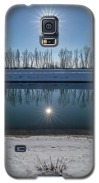 Galaxy S5 Case featuring the photograph Impression Of Reflection by Davorin Mance