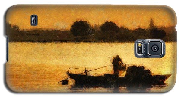 Impressionist Dawn Galaxy S5 Case