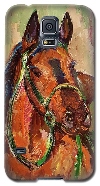 Impressionist Horse Galaxy S5 Case