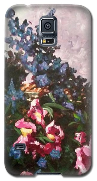 Impressionistic Flowers Galaxy S5 Case