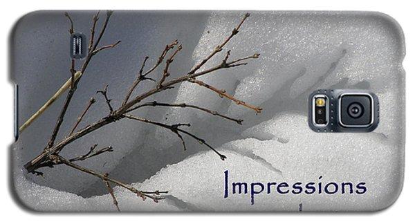 Impressions Can Last A Lifetime Galaxy S5 Case by DeeLon Merritt