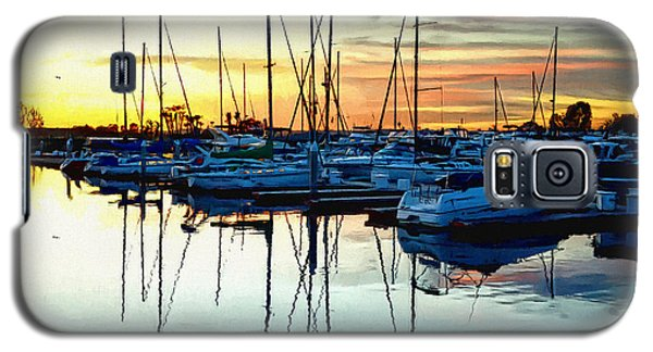 Galaxy S5 Case featuring the photograph Impressions Of A San Diego Marina by Glenn McCarthy Art and Photography