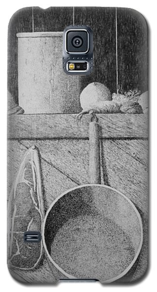 Galaxy S5 Case featuring the painting Improvisation by A  Robert Malcom