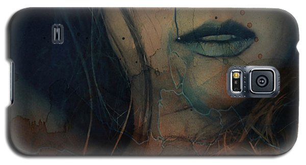 Galaxy S5 Case featuring the mixed media In A Broken Dream  by Paul Lovering