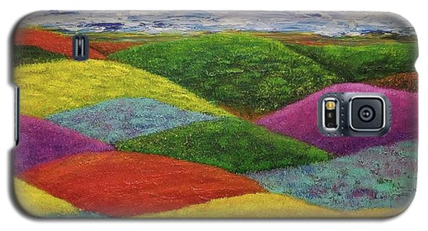 Galaxy S5 Case featuring the painting In A Land Far, Far Away by Jane Chesnut