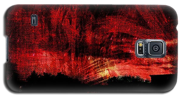In A Red World Galaxy S5 Case