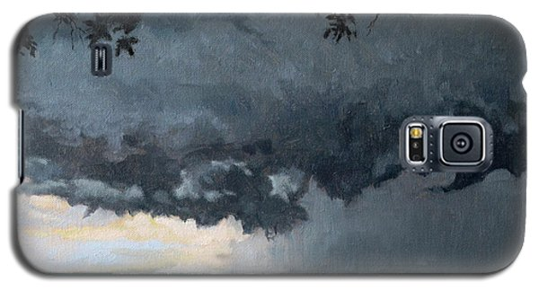 In Coming Storm-epping Forest On The Lake Galaxy S5 Case