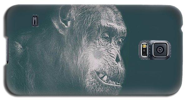 Orangutan Galaxy S5 Case - In Deep Thought by Martin Newman