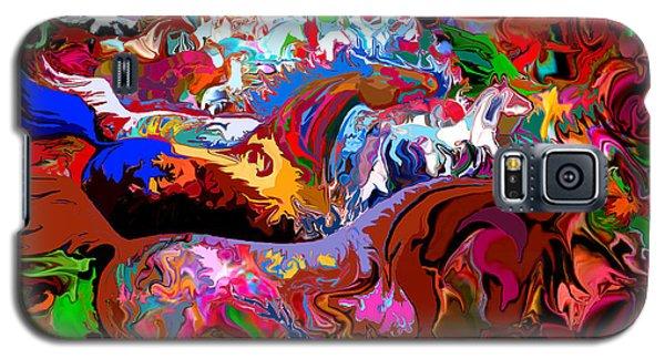 Galaxy S5 Case featuring the digital art In Dreams by Loxi Sibley