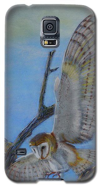 In Flight Barn Owl Galaxy S5 Case