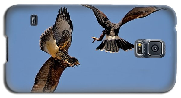 Galaxy S5 Case featuring the photograph In Flight Challenge H43 by Mark Myhaver