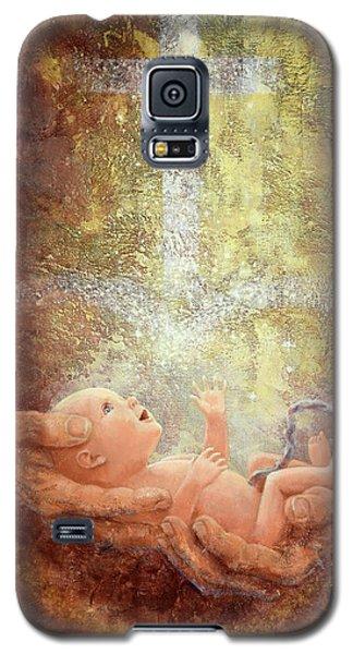 In His Hands Galaxy S5 Case