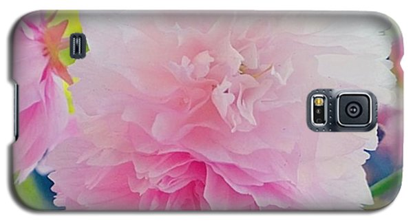 In Love With This Delicate #pink #tree Galaxy S5 Case by Shari Warren
