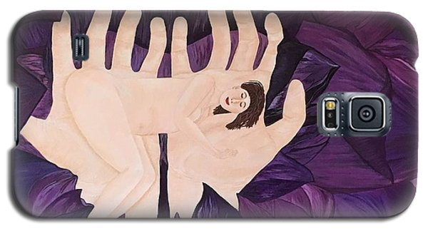 Galaxy S5 Case featuring the painting In Loving Hands by Cheryl Bailey