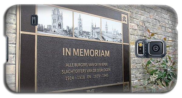 In Memoriam - Ypres Galaxy S5 Case