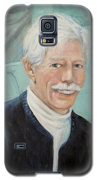 Galaxy S5 Case featuring the painting In Memory Of Uncle Bud by Donna Tucker