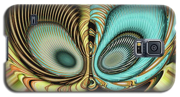 Galaxy S5 Case featuring the digital art In My Head by Wendy J St Christopher