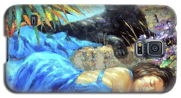 In One's Sleep Galaxy S5 Case by Dmitry Spiros