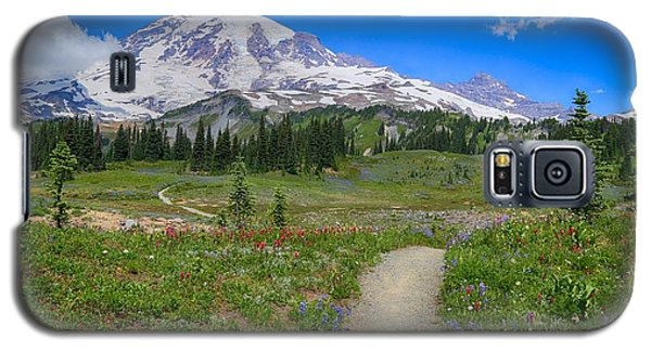 In Search Of Wildflowers Galaxy S5 Case by Lynn Hopwood