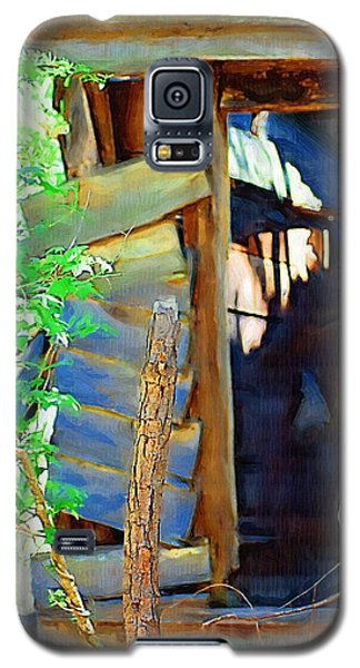 Galaxy S5 Case featuring the photograph In Shambles by Donna Bentley