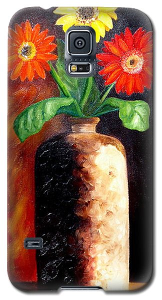 Galaxy S5 Case featuring the painting In Sharp Contrast.  Sold by Susan Dehlinger