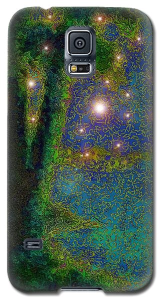 In The Beginning God... Galaxy S5 Case