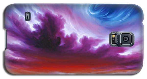 In The Beginning Galaxy S5 Case by James Christopher Hill