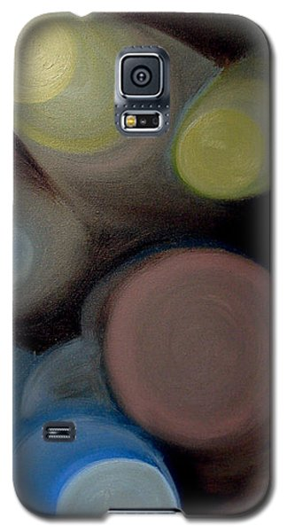 In The Circles Of The Light Galaxy S5 Case by Saad Hasnain