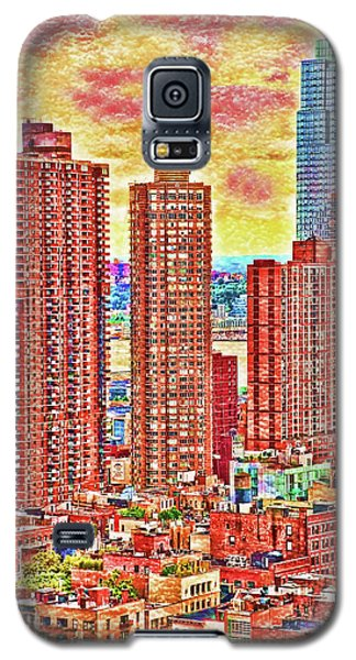 Galaxy S5 Case featuring the photograph In The City by Barbara Manis