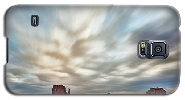 Galaxy S5 Case featuring the photograph In The Clouds by Jon Glaser