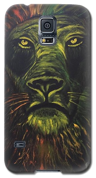 Galaxy S5 Case featuring the painting In The Dark by Brindha Naveen
