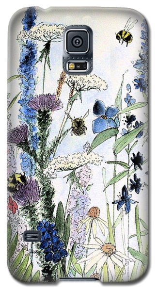 In The Garden Galaxy S5 Case by Laurie Rohner