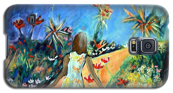 In The Garden Of Joy Galaxy S5 Case