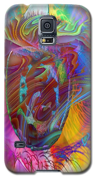 Galaxy S5 Case featuring the mixed media In The Light by Kevin Caudill