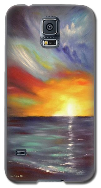 In The Moment - Vertical Sunset Galaxy S5 Case